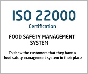 ISO 22000 Certification Coimbatore