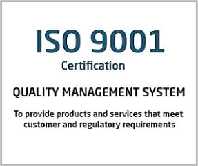 ISO 9001 Certification Coimbatore