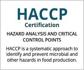 HACCP Certification Bangalore